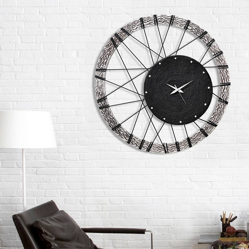 Classic And Modern Design Wall Clocks, From The Best Italian Brands Regarding Most Popular Italian Ceramic Wall Clock Decors (View 15 of 25)