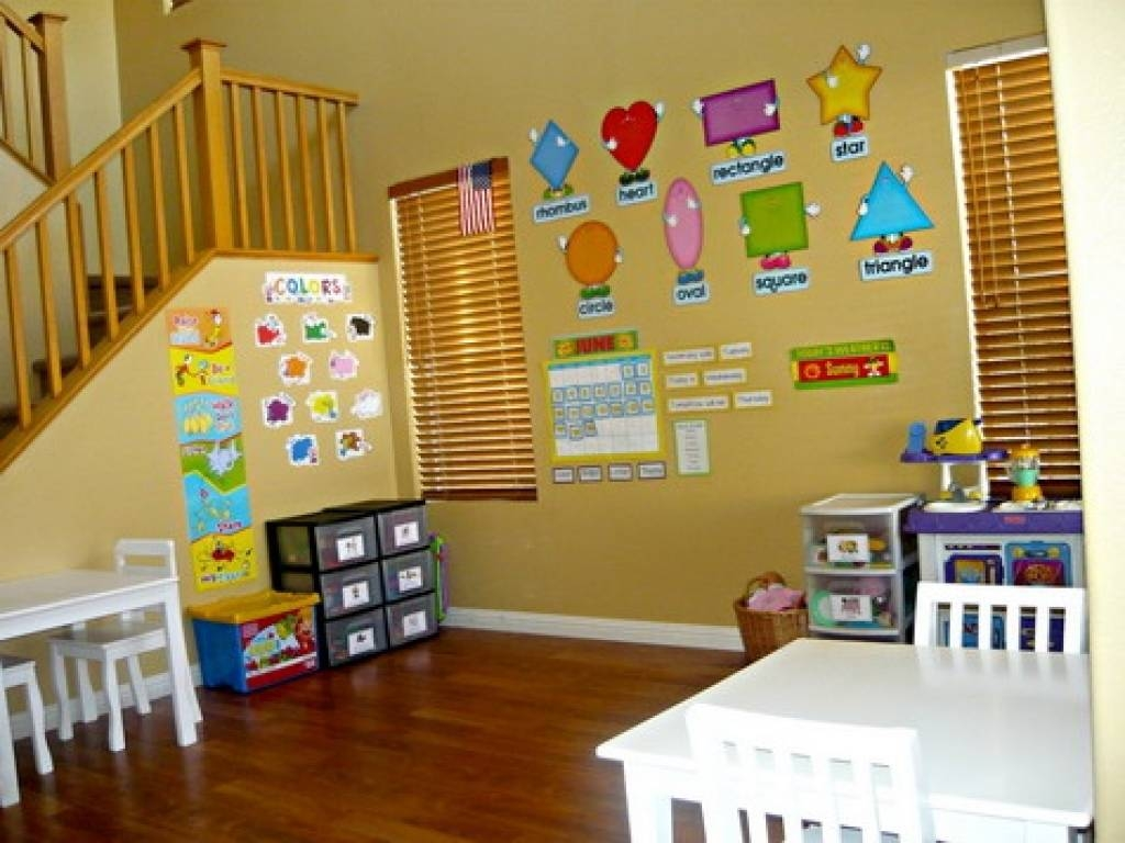 Classroom Decoration Ideas For Nursery Class ~ Best of preschool wall decoration
