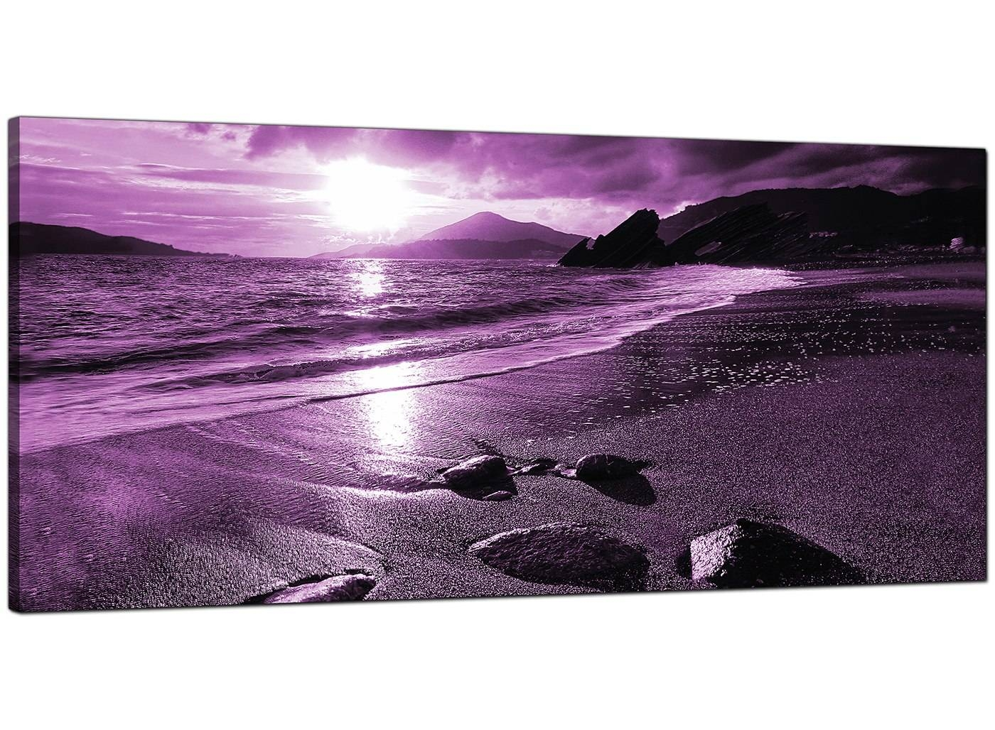 Classy 10+ Purple Canvas Wall Art Decorating Design Of 36 Purple Intended For Most Up To Date Purple Canvas Wall Art (View 7 of 20)