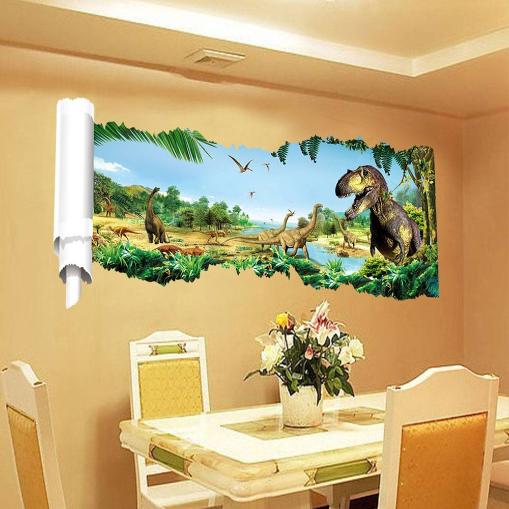 Photos of Beetling Brachiosaurus Dinosaur 3D Wall Art (Showing 20 of ...