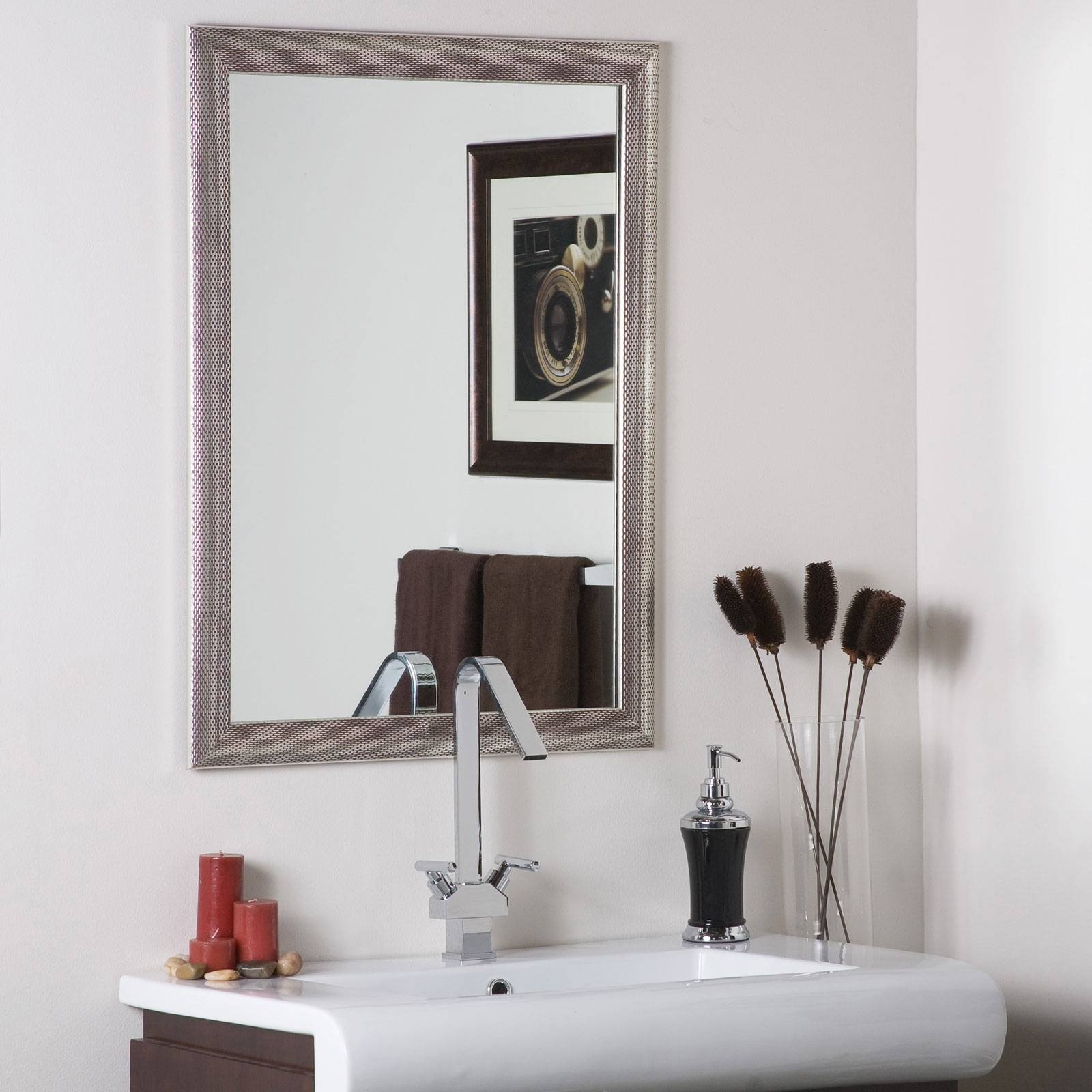 Classy Warm Silver Wall Art For Bathroom — Home Design Stylinghome With Regard To Most Up To Date Classy Wall Art (View 9 of 15)