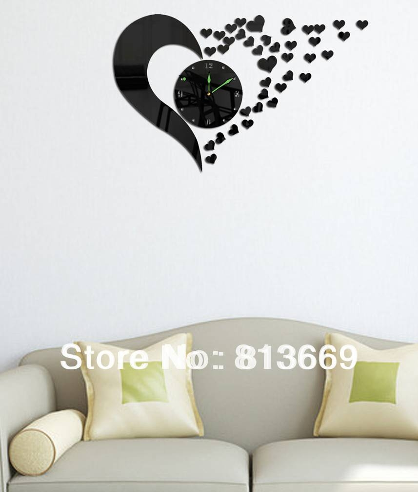 Clock Tool Picture – More Detailed Picture About New 2014 3D Diy Throughout Newest Vintage 3D Wall Art (View 7 of 20)