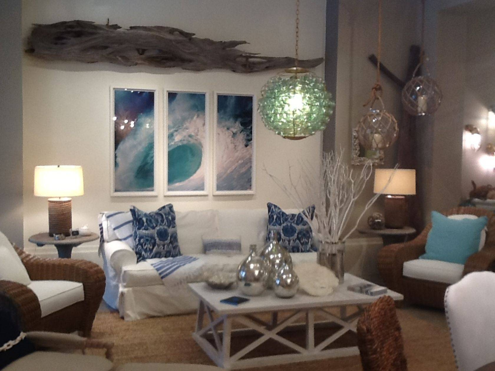 Coastal Furniture Store Boca Raton Florida With Beach House Style For Most Recent Beach Cottage Wall Art (View 11 of 25)