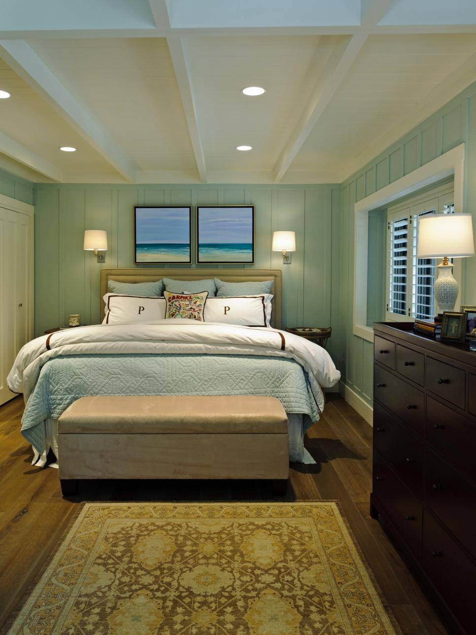 Coastal Inspired Bedrooms | Hgtv Pertaining To Current Beach Wall Art For Bedroom (View 18 of 20)