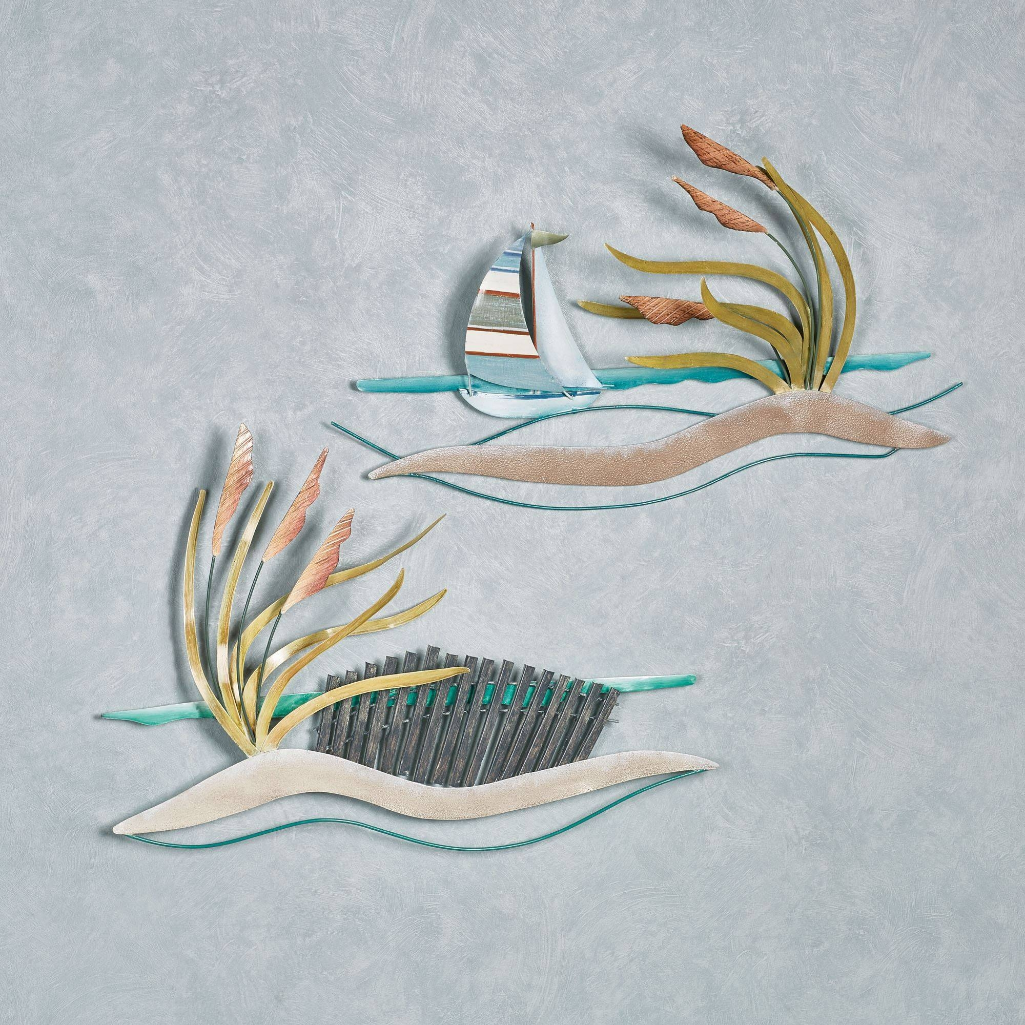 Coastal Metal Wall Sculptures | Touch Of Class Pertaining To 2017 Seaside Metal Wall Art (View 4 of 15)