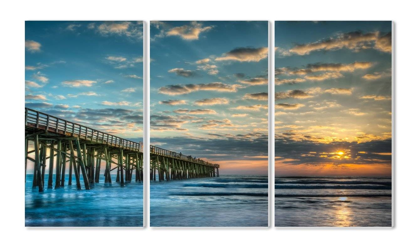 Coastal Wall Art You'll Love | Wayfair Inside Most Up To Date Matching Canvas Wall Art (View 20 of 20)