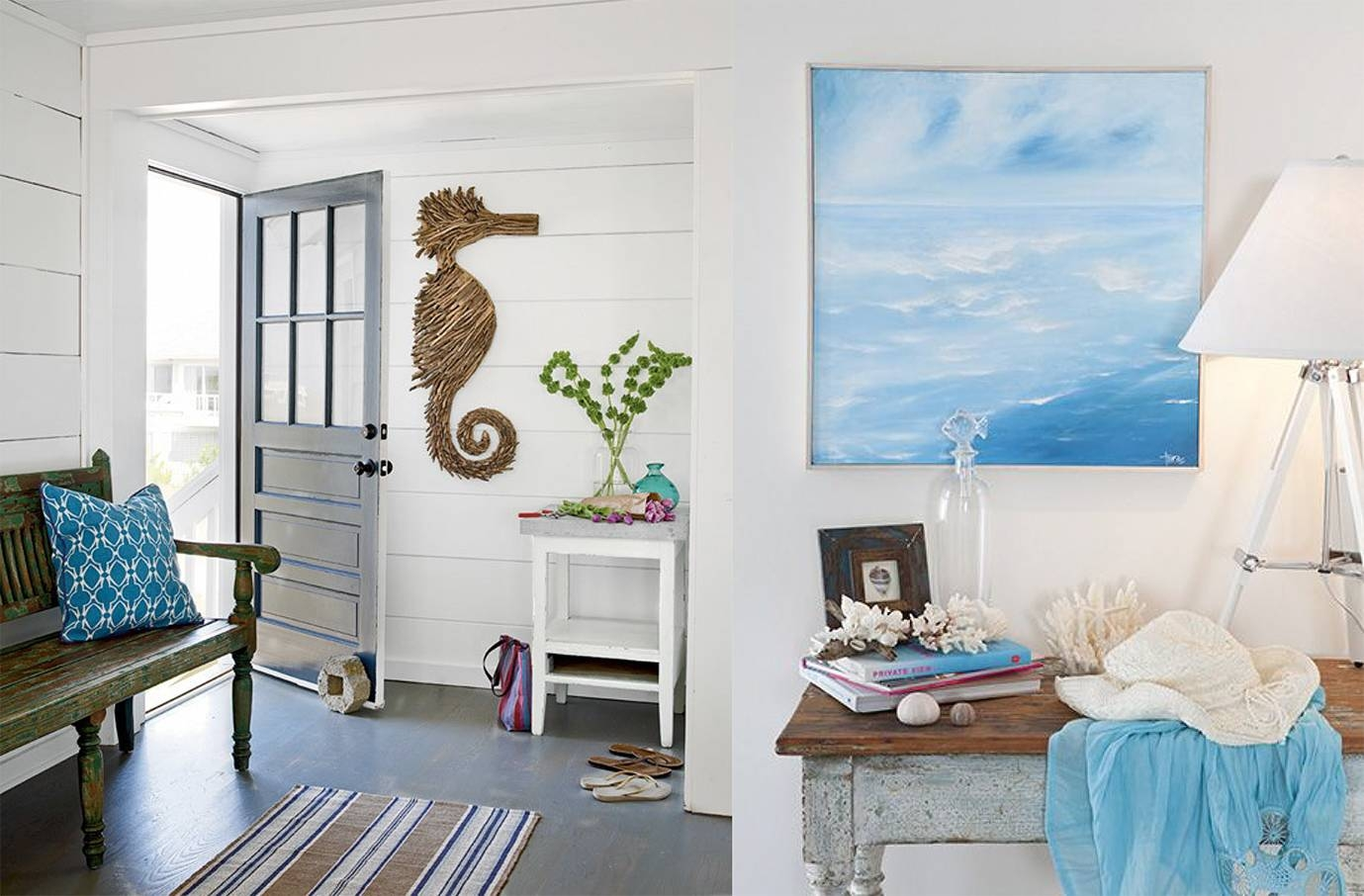 Coastal Wall Decor Bedroom — Unique Hardscape Design : Bring Beach In Newest Beach Cottage Wall Art (View 7 of 25)