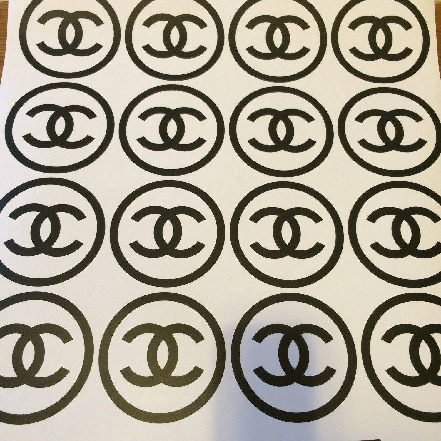 Coco Chanel Logo Stickers –  (View 18 of 30)