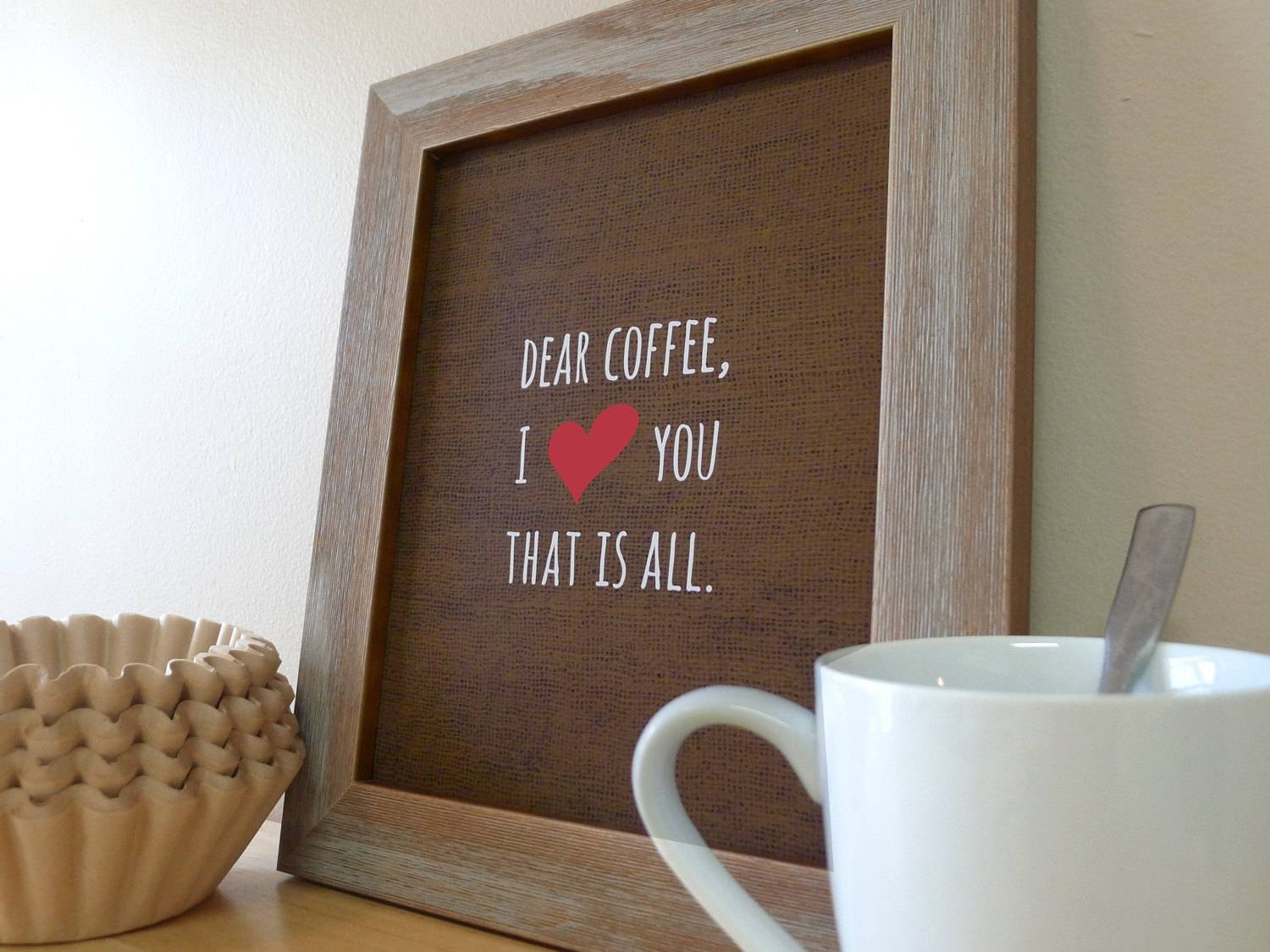 Coffee Decor Kitchen | Kitchen Decor Design Ideas With Best And Newest Cafe Latte Kitchen Wall Art (View 12 of 30)