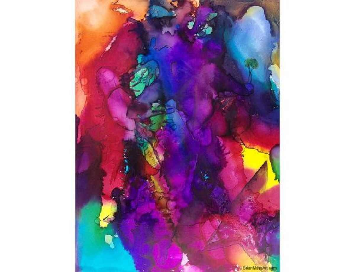 Colorful Abstract Wall Art | Best Images Collections Hd For Gadget Intended For Latest Colorful Abstract Wall Art (View 11 of 20)