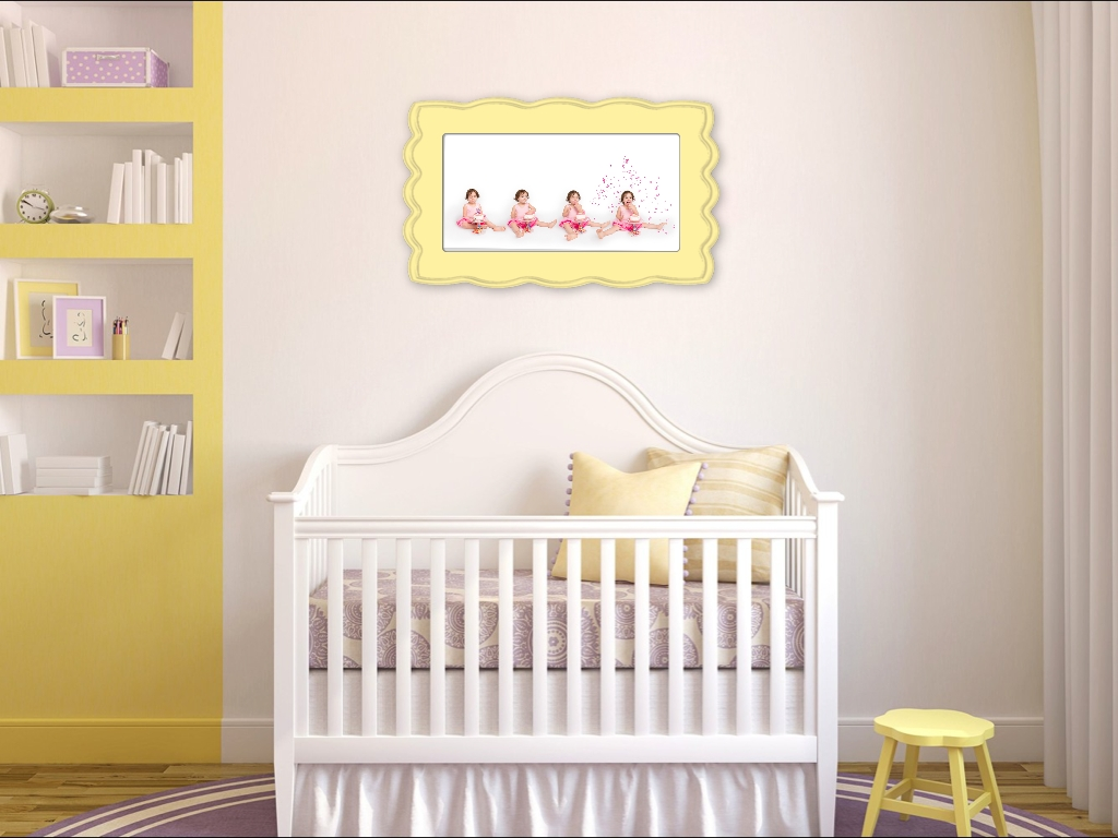 Colorful Organic Bloom Framed Wall Art For Girl's Nursery Pertaining To Latest Nursery Framed Wall Art (View 17 of 20)