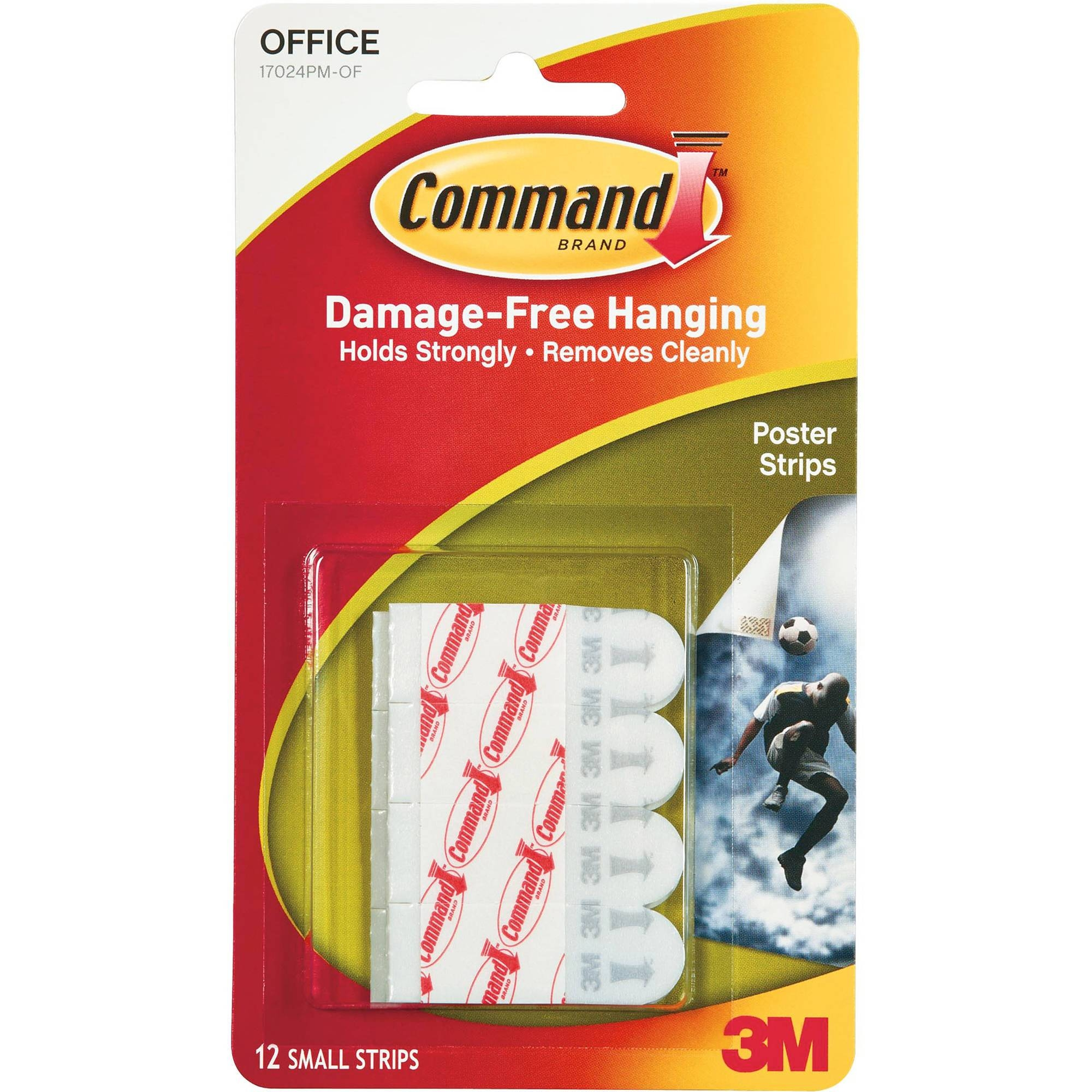 Command Jumbo Canvas Hanger, White, 1 Hook, 4 Large Strips/pack Inside Most Recently Released Walmart Framed Art (View 11 of 20)