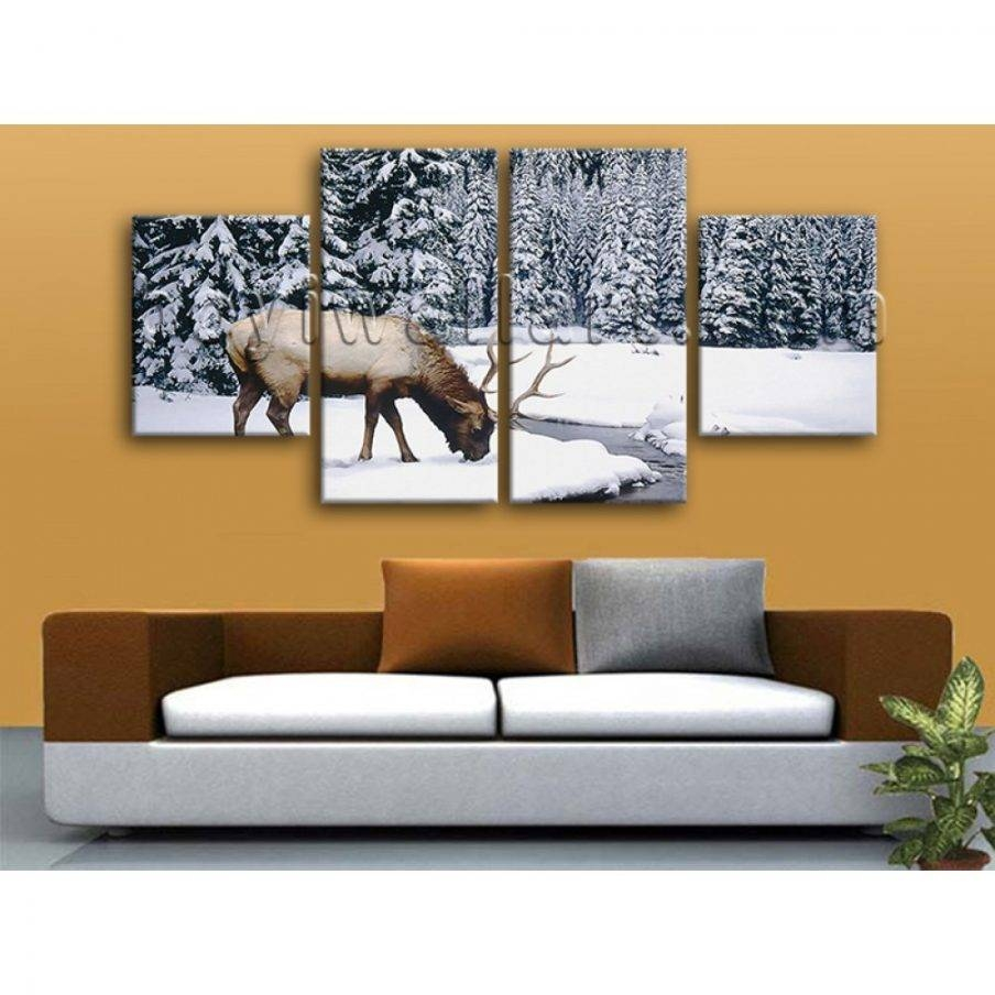 Compact Animal Wall Art Pcs Set Abstract Colorful Animal Wall Art Within Newest Animal Canvas Wall Art (View 11 of 20)