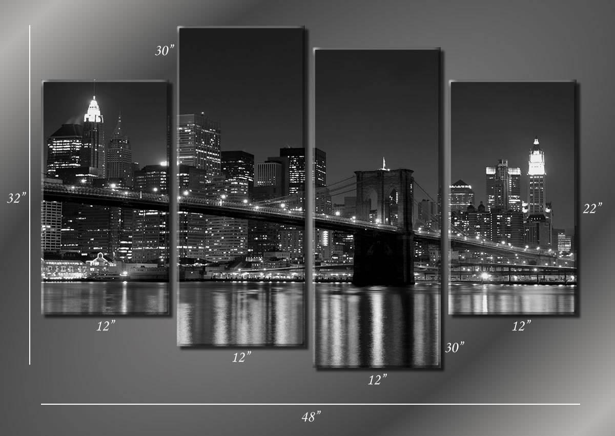 Compact New York Wall Art Amazon New York City Canvas New York Regarding Current New York City Wall Art (View 4 of 20)