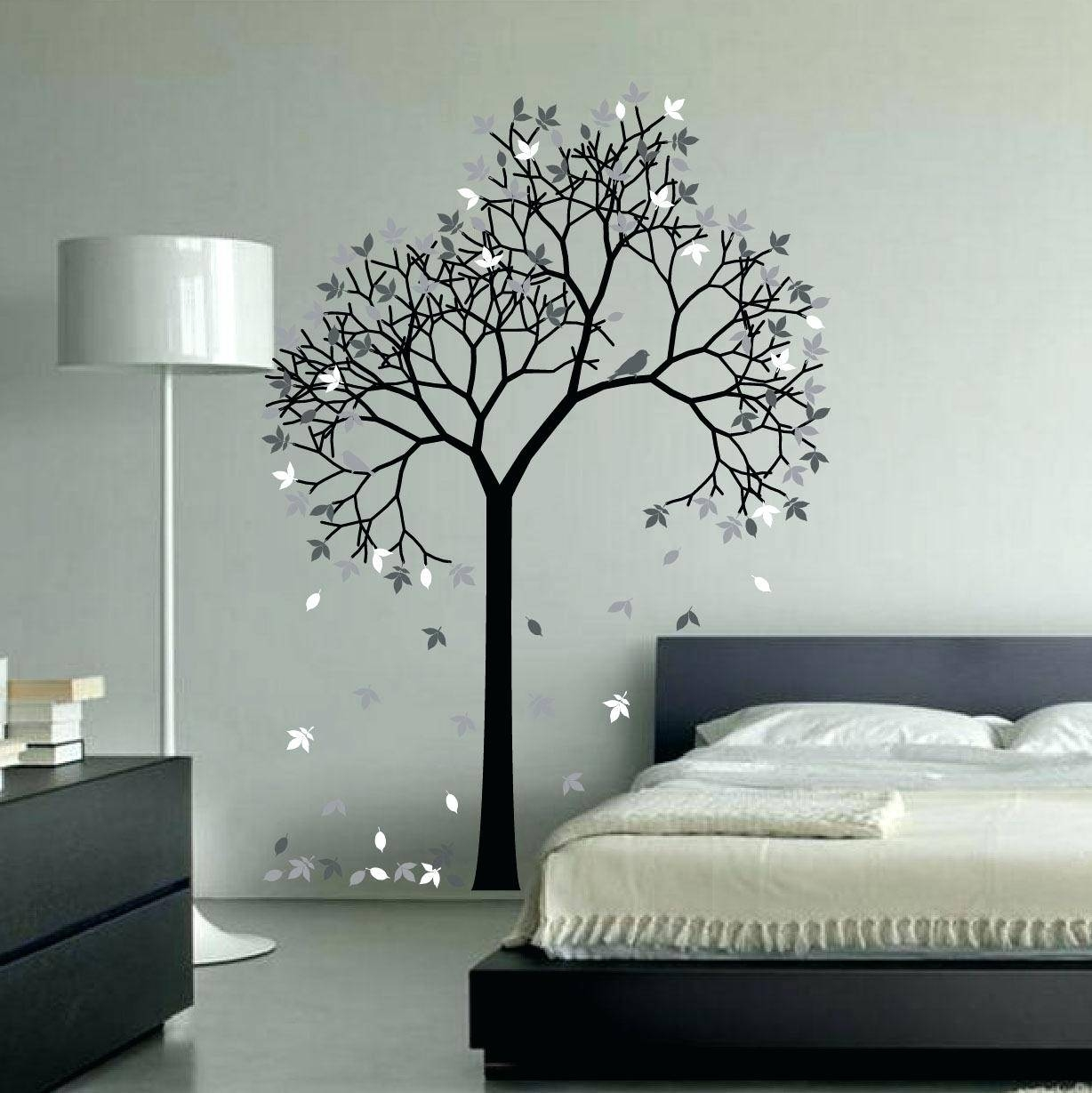 Computer Wall Decals Aspen Tree Wall Decal Sticker Vinyl Art For Recent Aspen Tree Wall Art (View 9 of 20)