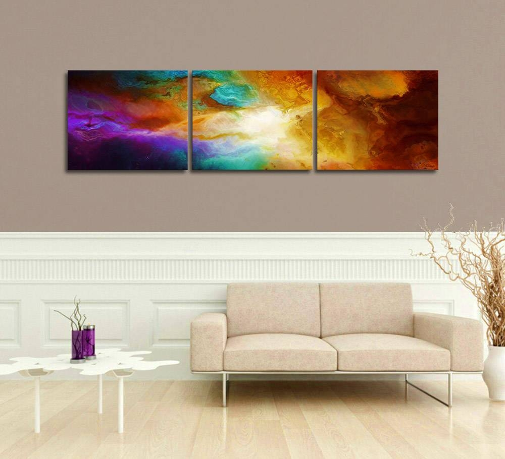 """Contemporary Abstract Art For Sale – """"becoming"""" – Pertaining To Best And Newest Triptych Art For Sale (View 10 of 20)"""