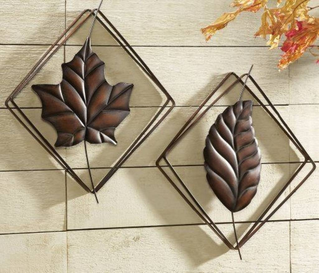 Contemporary Metal Leaf Art Wall Decor Collections Etc: Http Metal Intended For Most Popular Palm Leaf Wall Decor (View 10 of 25)