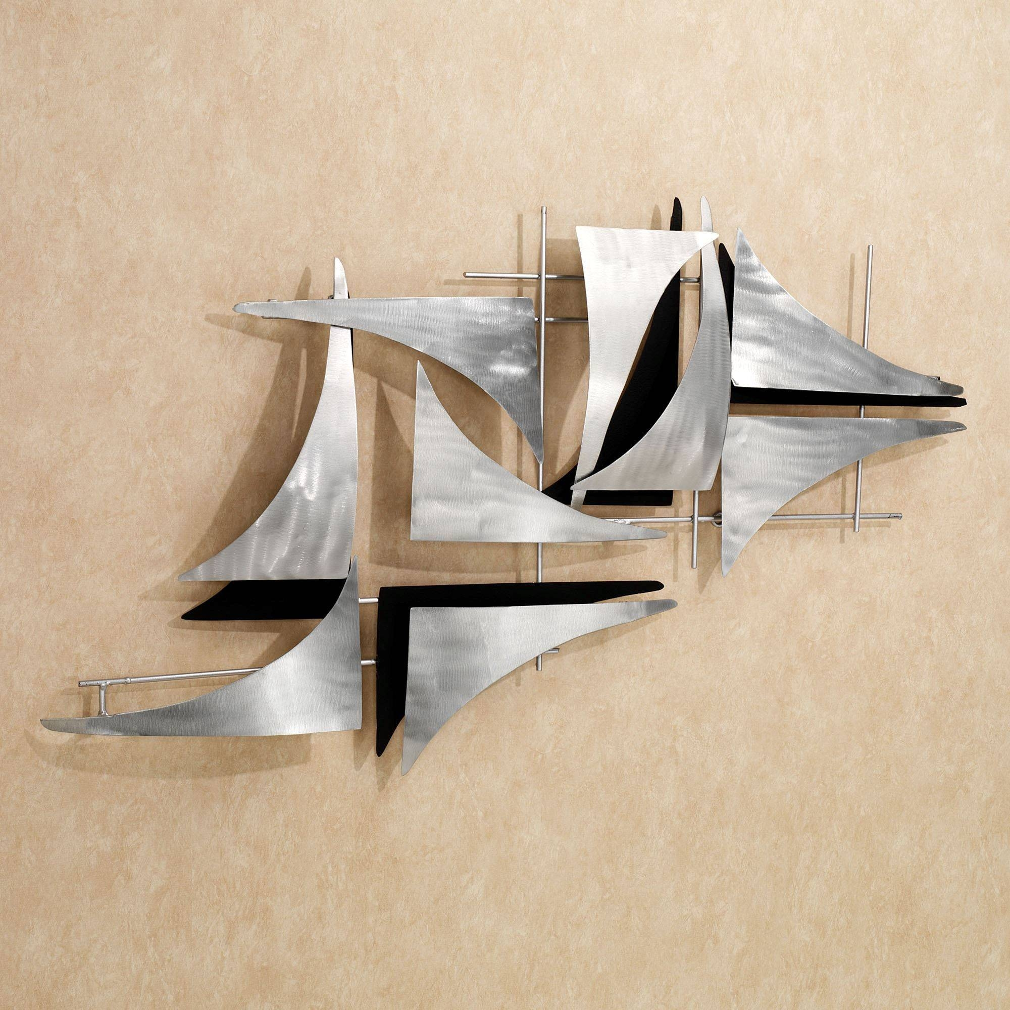 Contemporary Metal Wall Art Sculptures | Touch Of Class Pertaining To Most Recently Released Contemporary Metal Wall Art Sculpture (View 5 of 20)