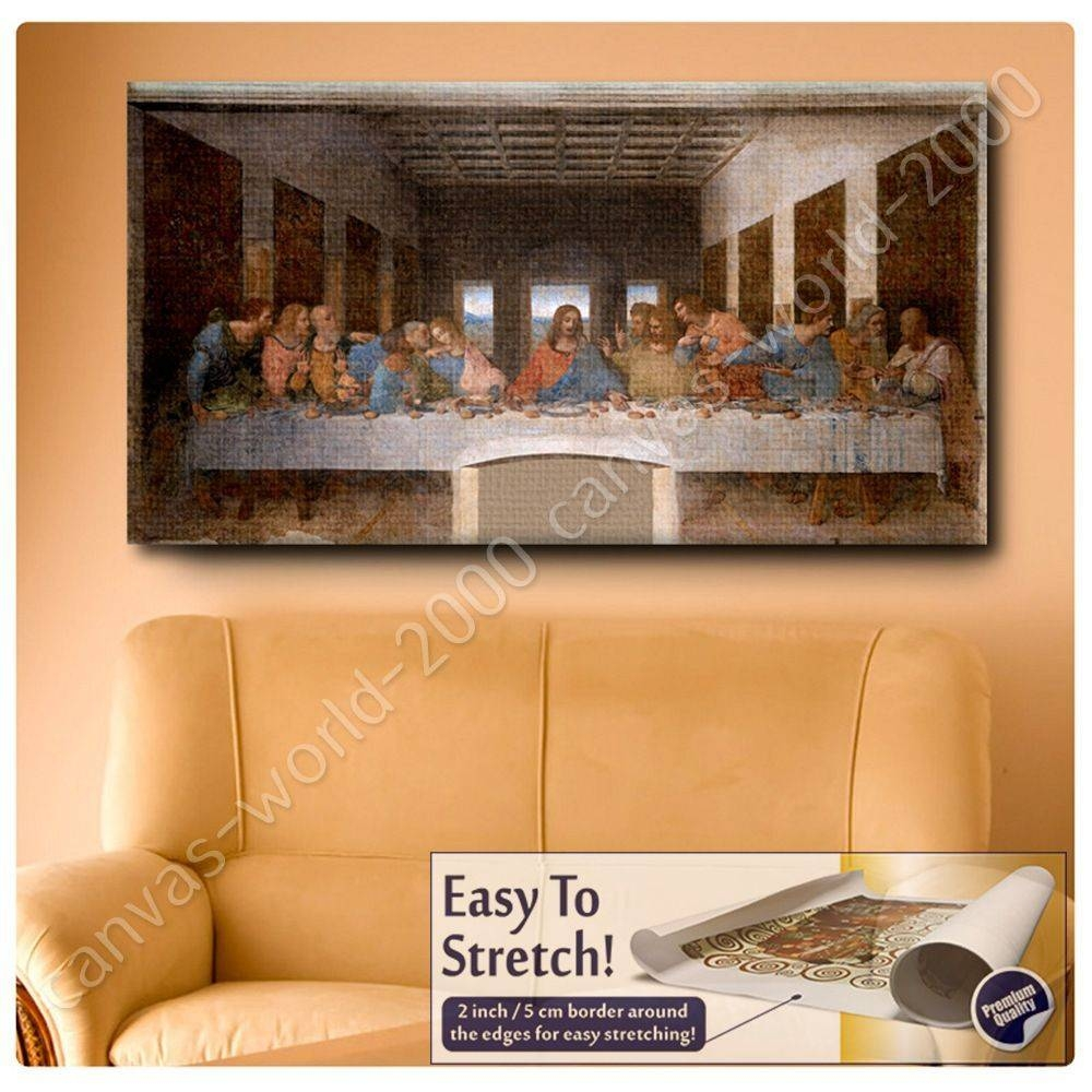 Cool 20+ Last Supper Wall Art Inspiration Of Last Supper Framed In Most Recent The Last Supper Wall Art (View 5 of 20)