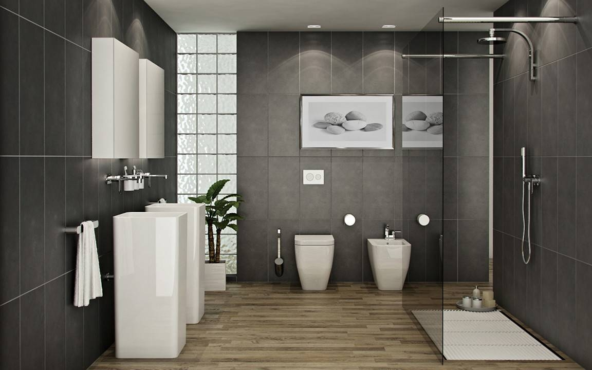 Cool Bathroom Wall Art Ideas Throughout Most Recent Contemporary Bathroom Wall Art (View 10 of 20)