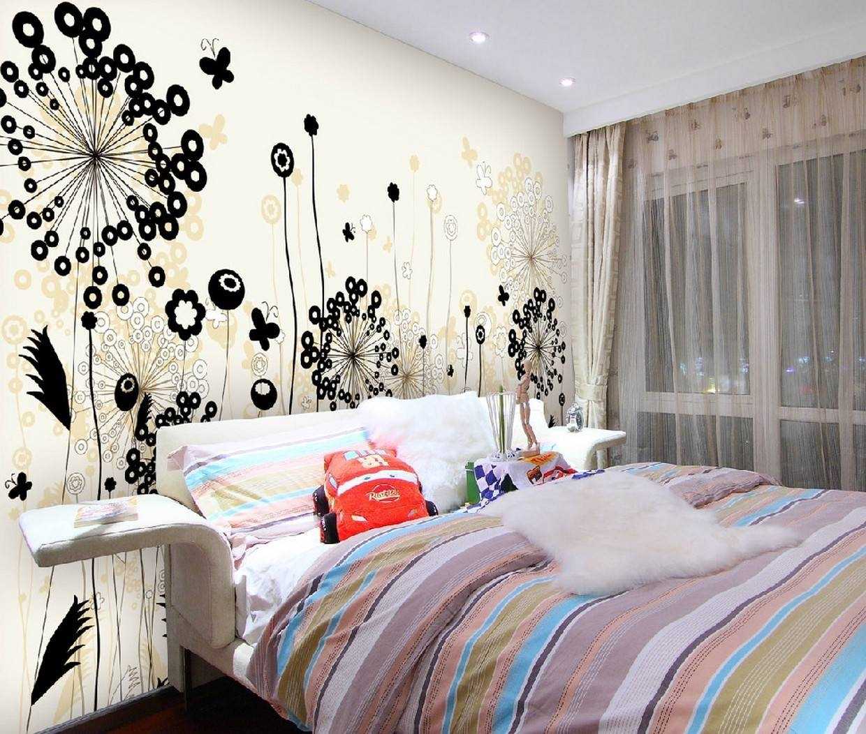 Cool Bedroom Paint Ideas Bendut Home Interior Exterior Wall Art Throughout Most Up To Date Teenage Wall Art (View 12 of 30)