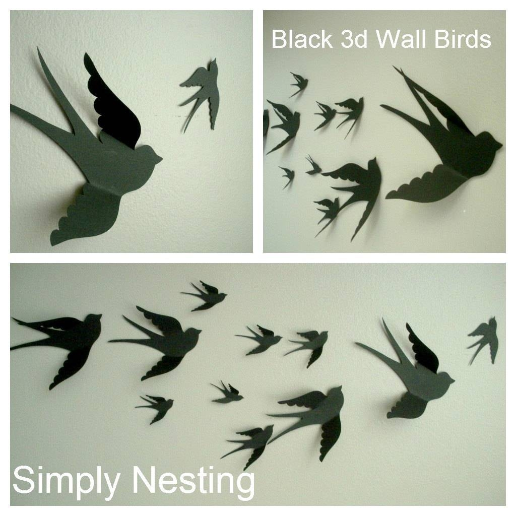 2018 popular flying birds metal wall art for Bird wall art