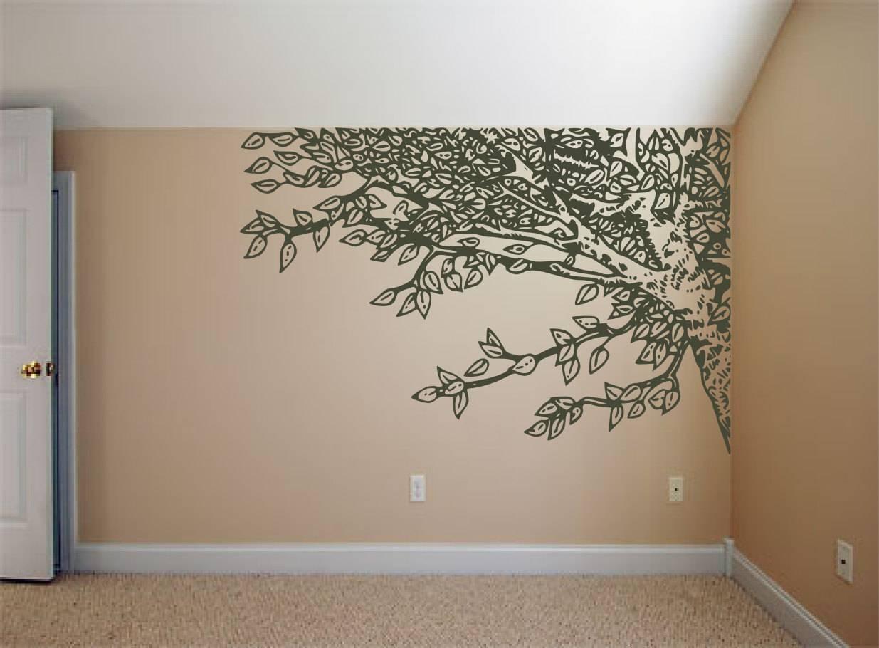 Cool Palm Tree Wall Art Metal Family Tree Wall Art Diy Woodland Within Newest Oak Tree Wall Art (View 6 of 30)
