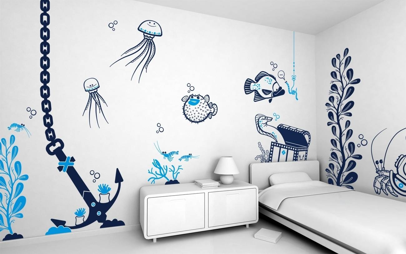 Cool Wall Art For Teenagers Gallery Also Bedroom Painting Ideas Intended For Most Current Wall Art For Teenagers (View 9 of 25)