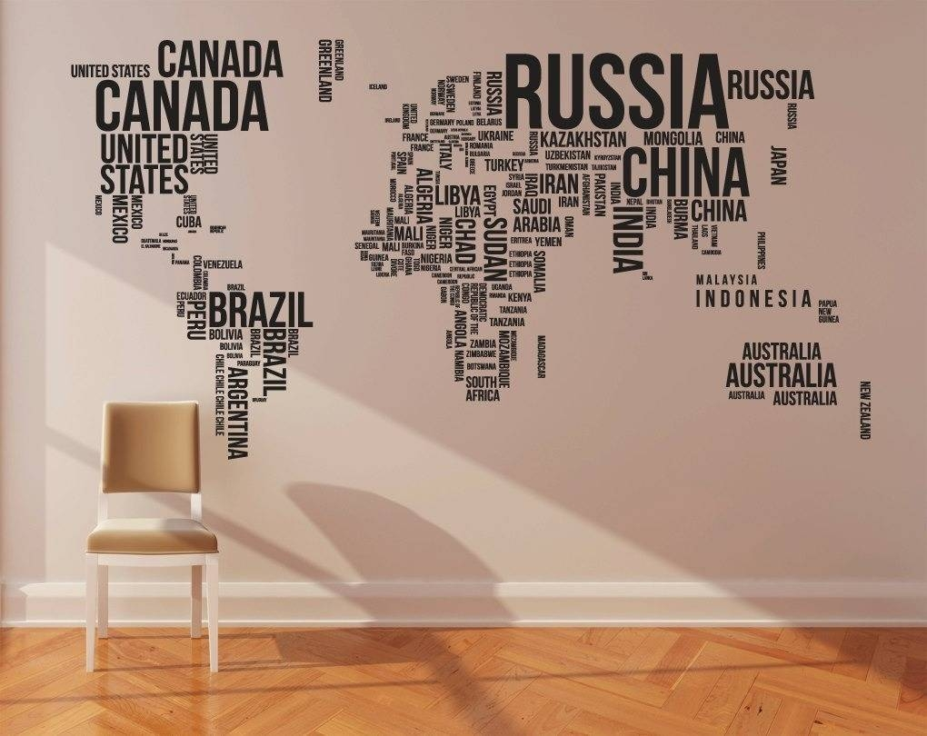 Cool World Wall Art Decal – Imgur With Regard To Most Recently Released World Wall Art (View 4 of 20)