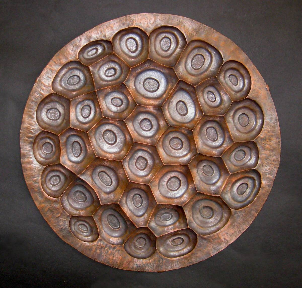 Copper Archives – Artist, Sculptor, Metalsmith For Best And Newest Hammered Metal Wall Art (View 11 of 20)