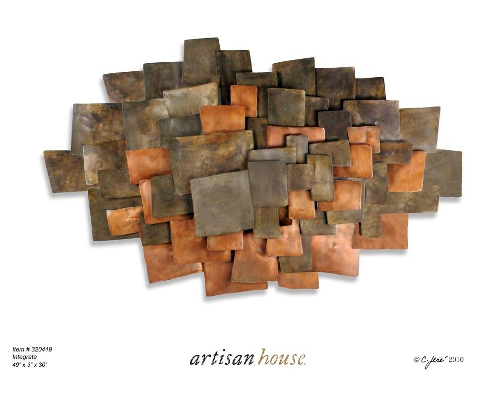 Copper Wall Art # Copper Wall Art With Copper Pipe – Youtube Pertaining To Best And Newest Artisan Metal Wall Art (View 16 of 25)