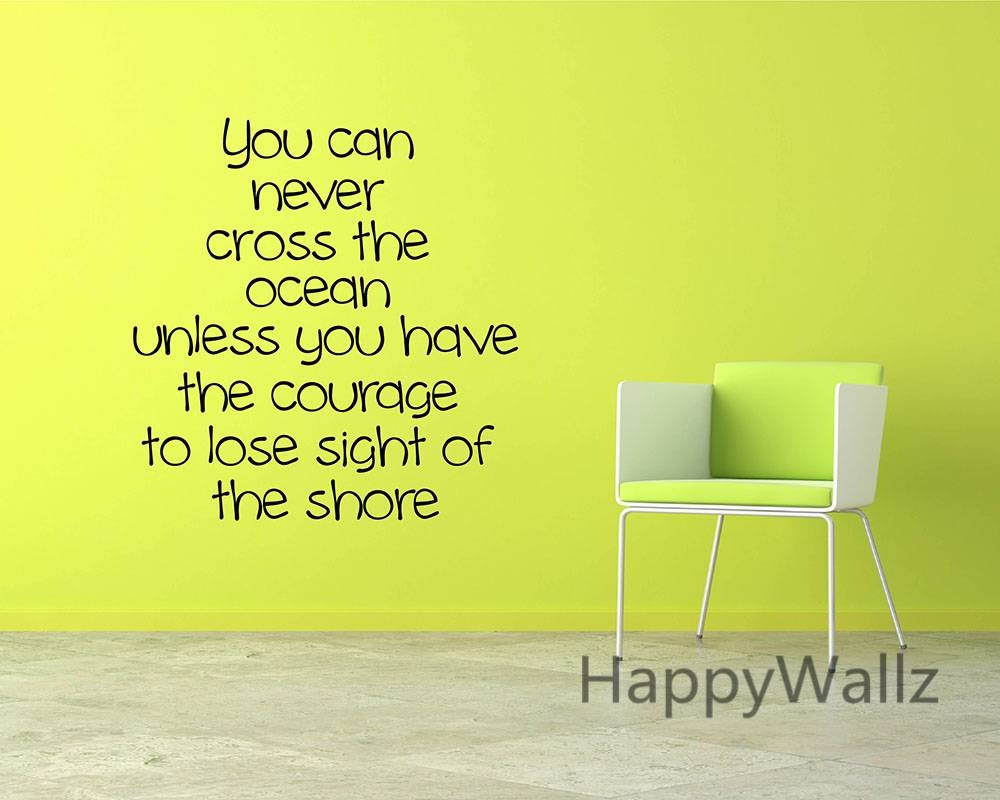 View Gallery of Inspirational Sayings Wall Art (Showing 15 of 30 Photos)