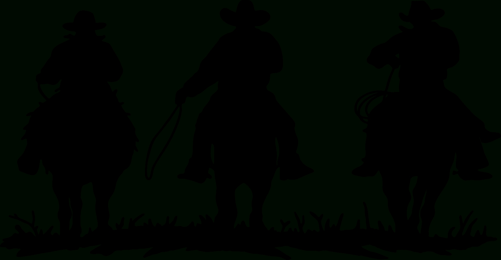 Cowboy Silhouette | Free Download Clip Art | Free Clip Art | On With Most Recently Released Western Metal Art Silhouettes (View 13 of 30)