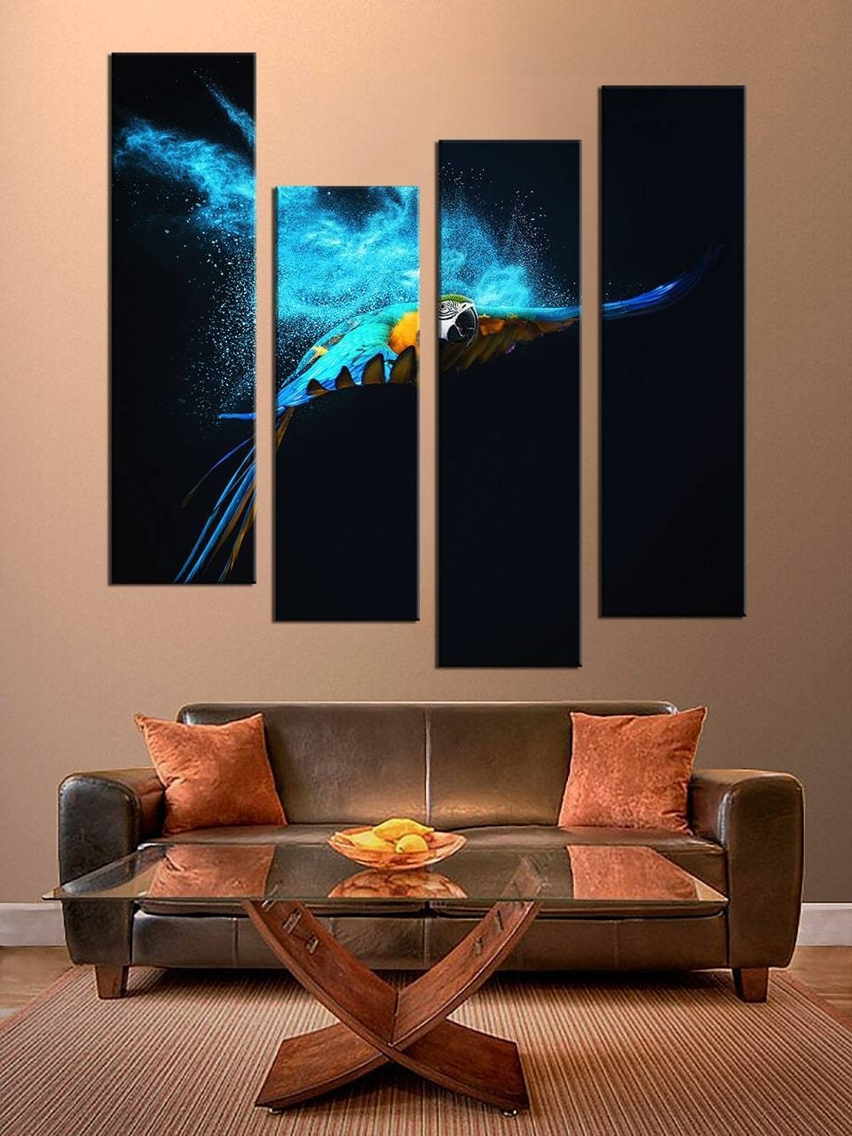 Cozy 4 Piece Wall Art Home Daccor Piece Canvas 4 Piece Abstract Regarding 2017 4 Piece Wall Art Sets (View 8 of 20)