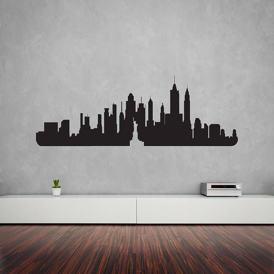 Cozy Kansas City Royals Canvas Wall Art New York Decal Mural City Intended For Most Recently Released Modern Vinyl Wall Art (View 13 of 14)