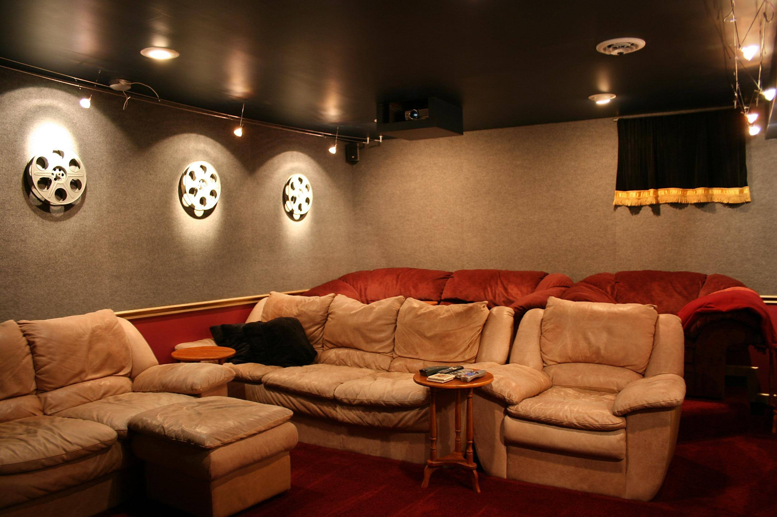 Cozy Wall Decor Home Theater Room Size Home Theater Decor Wall Art Throughout Most Recent Home Theater Wall Art (View 5 of 30)