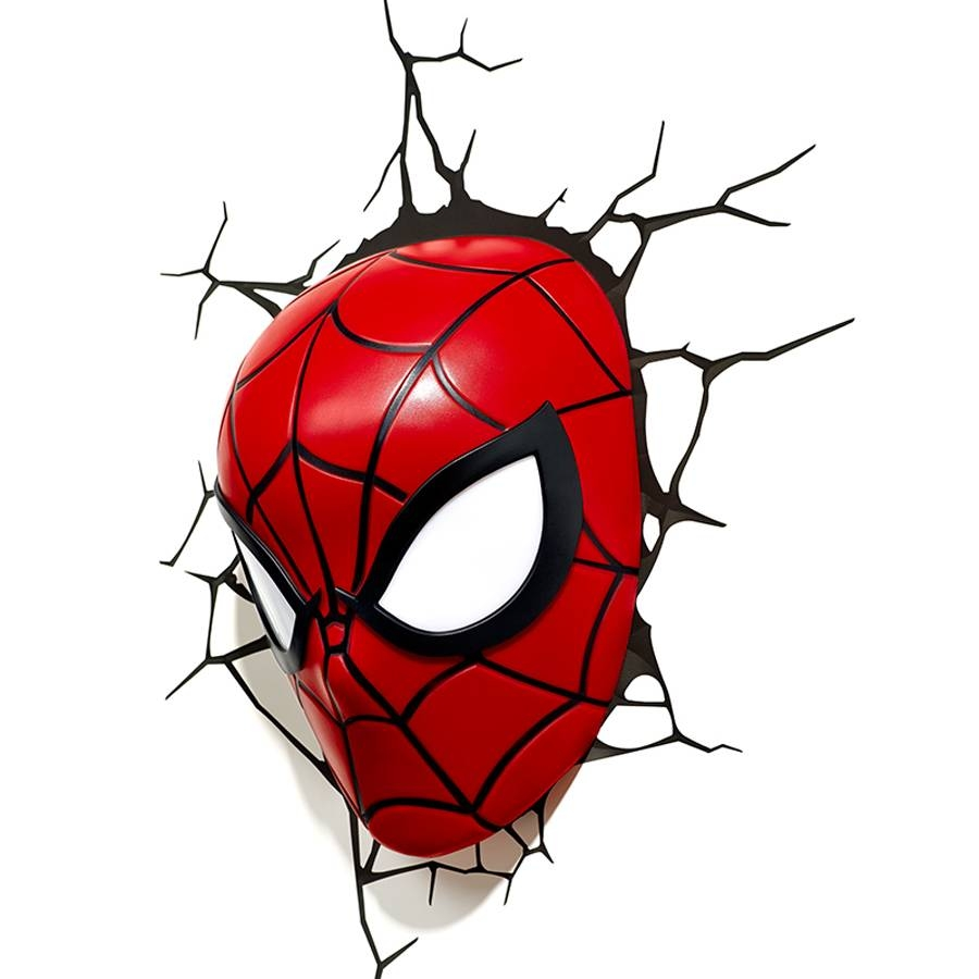 Creative Avengers Alliance Spiderman Shape 3d Night Lights Led With Regard To Most Current 3d Wall Art Night Light Spiderman Hand (View 9 of 20)