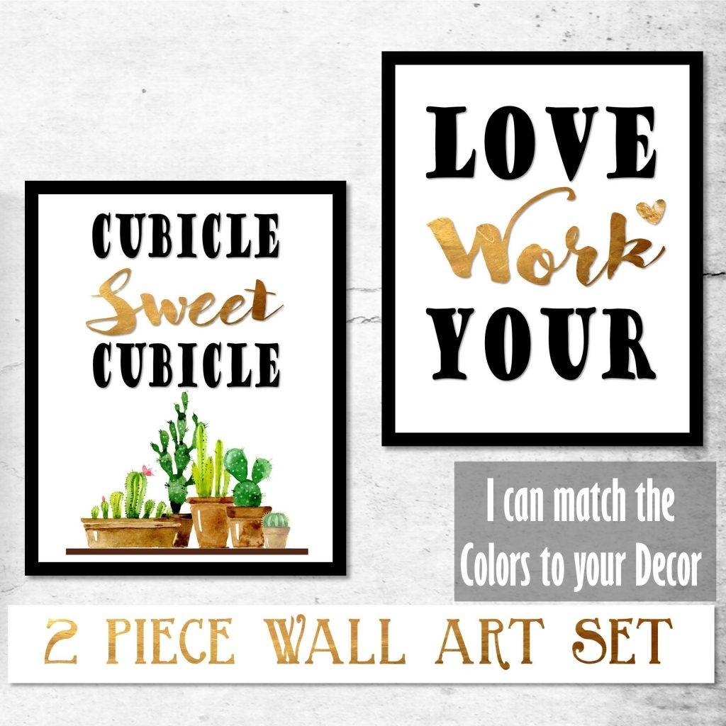 Cubicle Wall Decor Archives – Best Printable Art Intended For Most Recently Released Cubicle Wall Art (View 3 of 12)