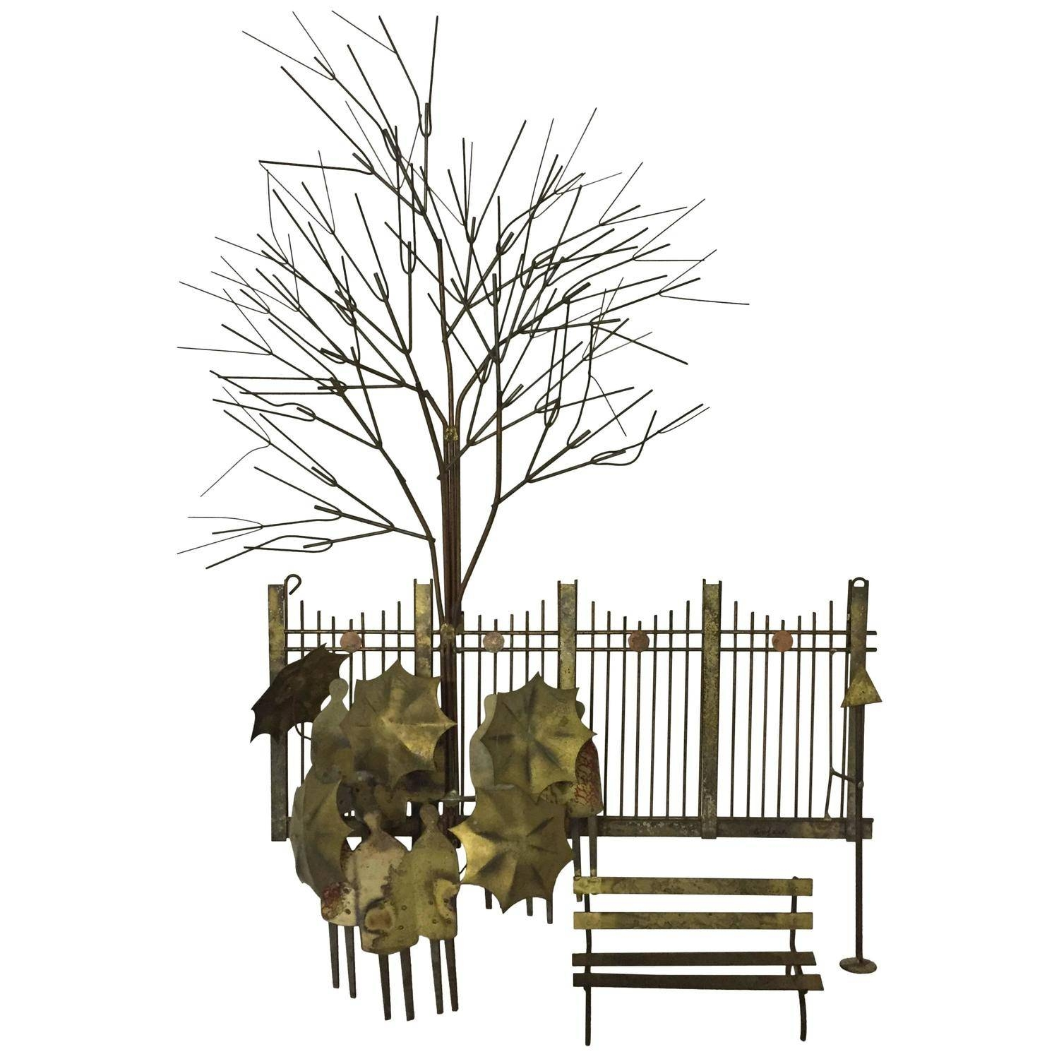 """Curtis Jere """"birds In Flight"""" Wall Art Iron Sculpture For Artisan With Most Current Artisan House Metal Wall Art (View 12 of 20)"""