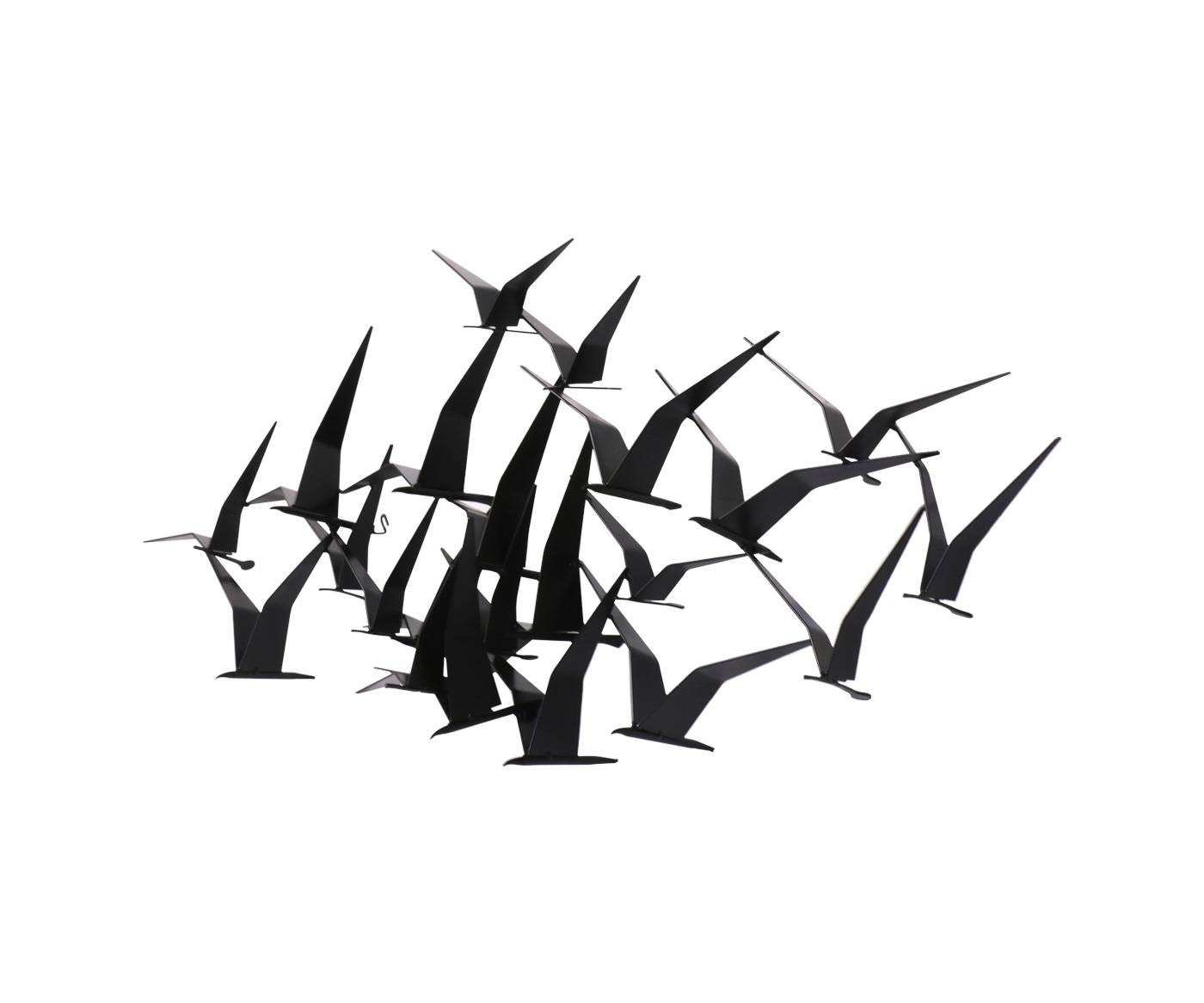 "Curtis Jere ""Flock Of Birds"" Wall Art Sculpture For Artisan House Intended For 2017 Flock Of Birds Wall Art (View 11 of 25)"