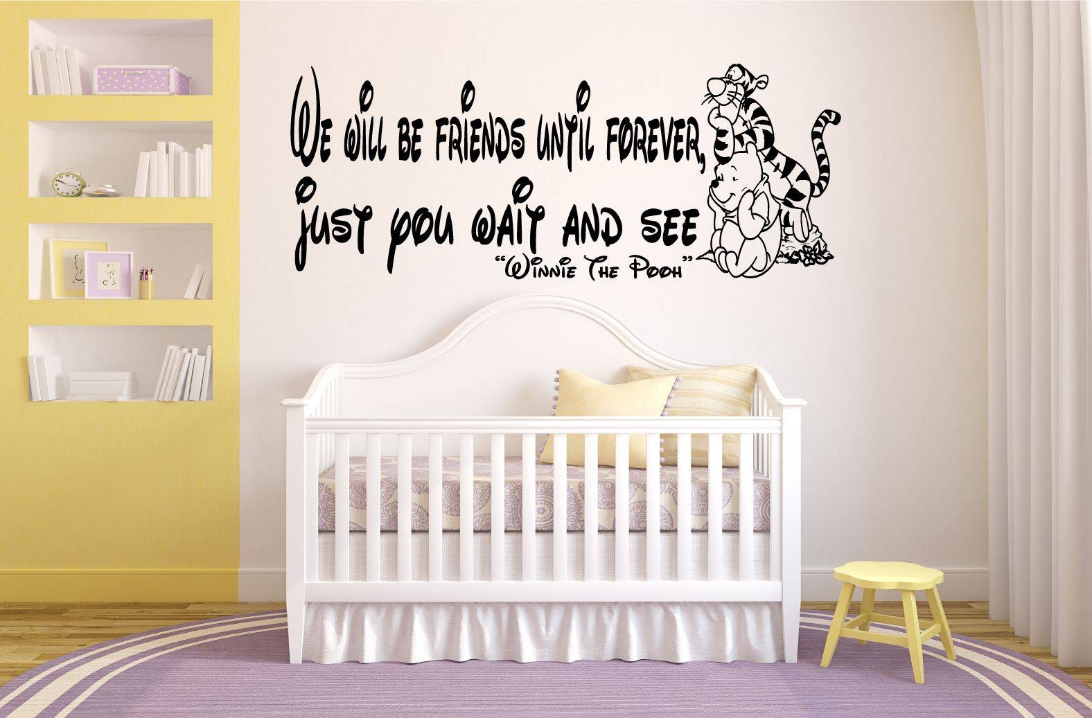 Featured Photo of Winnie The Pooh Vinyl Wall Art