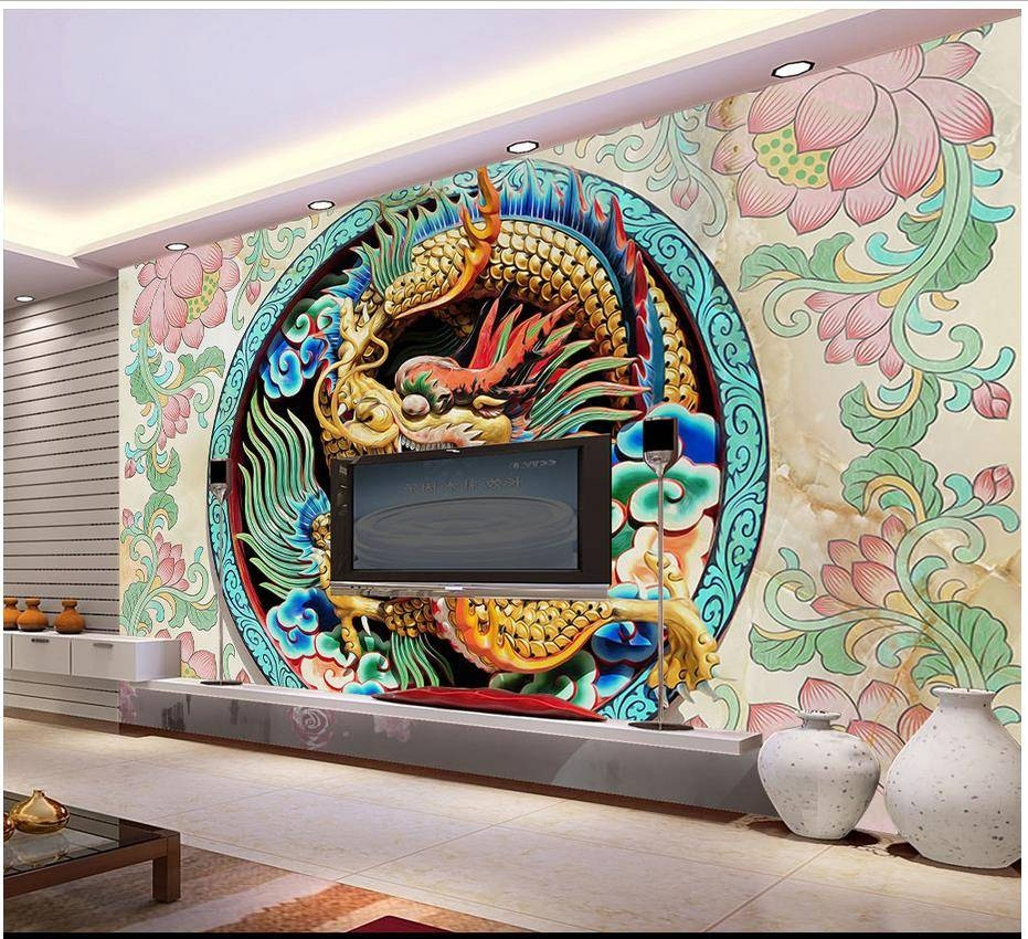 Custom 3D Photo Wallpaper 3D Wall Murals Wallpaper High Grade Within 2017 3D Wall Art Wallpaper (View 11 of 20)