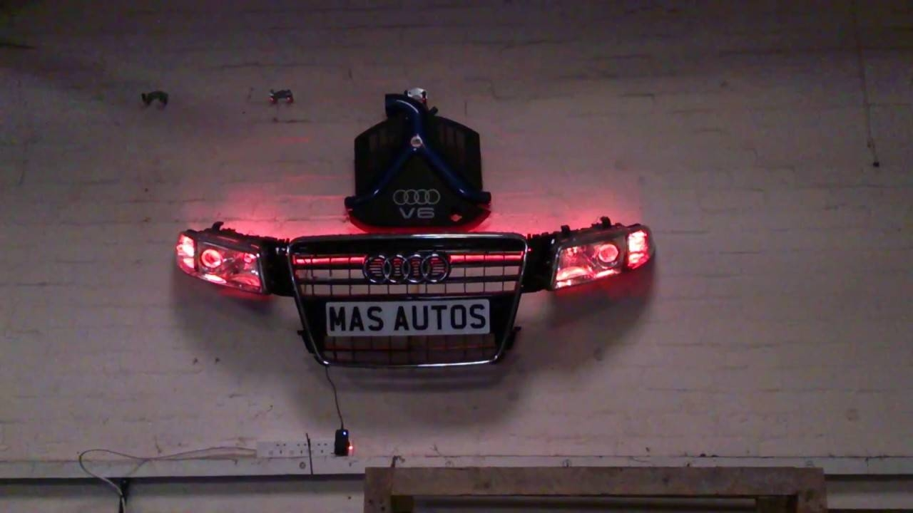 Custom Bespoke Car 3D Wall Art Using Led Lights – Youtube In Current 3D Wall Art With Lights (View 11 of 20)
