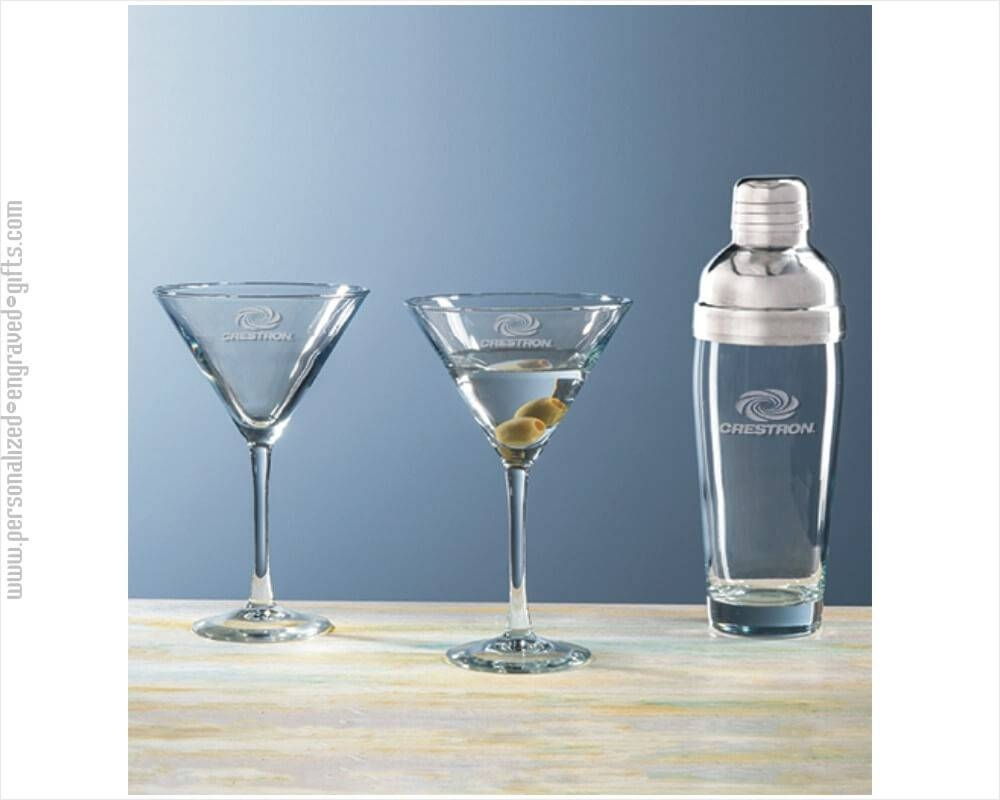 Custom Engraved Martini & Cocktail Shakers – Personalized Martini Intended For Most Recently Released Martini Metal Wall Art (View 11 of 30)