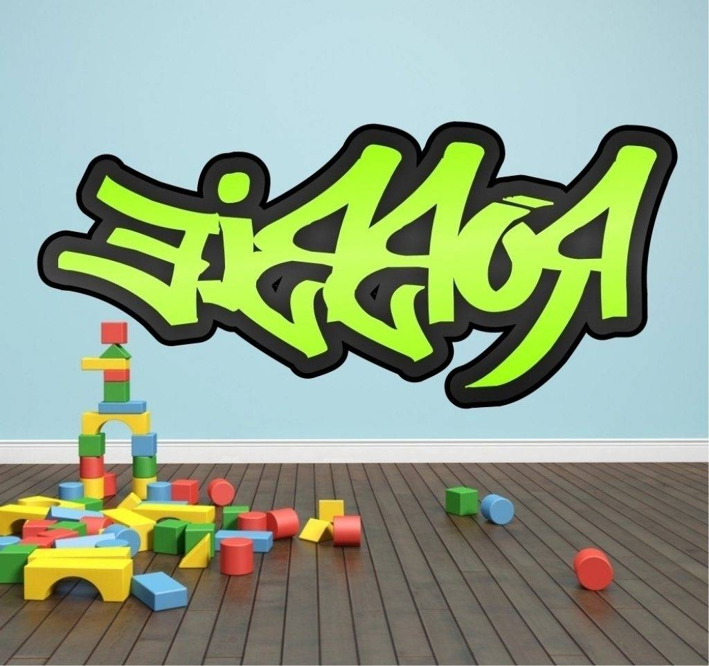 Custom Graffiti Art – Graffiti Art Intended For Most Current Personalized Graffiti Wall Art (View 4 of 30)