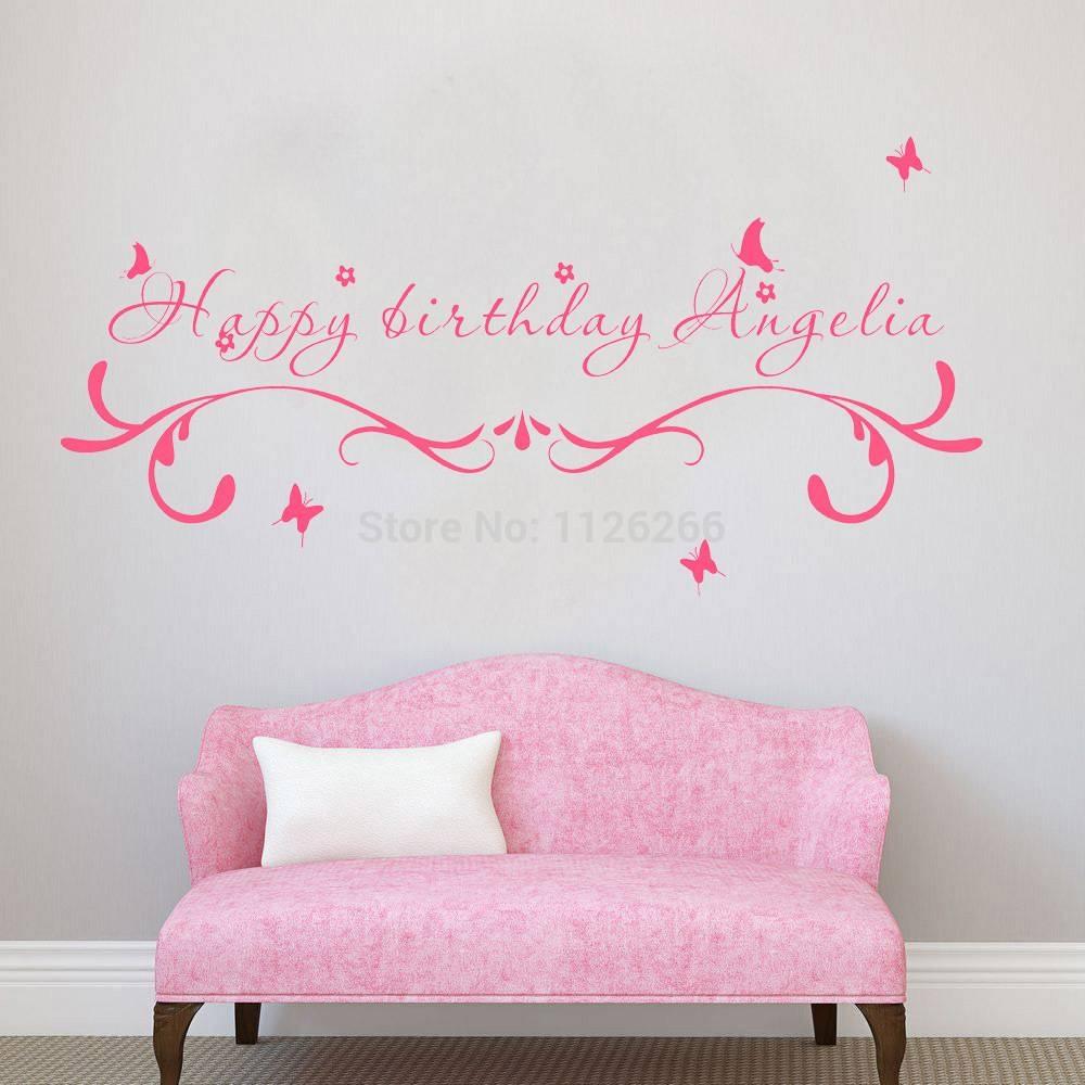 Featured Photo of Happy Birthday Wall Art