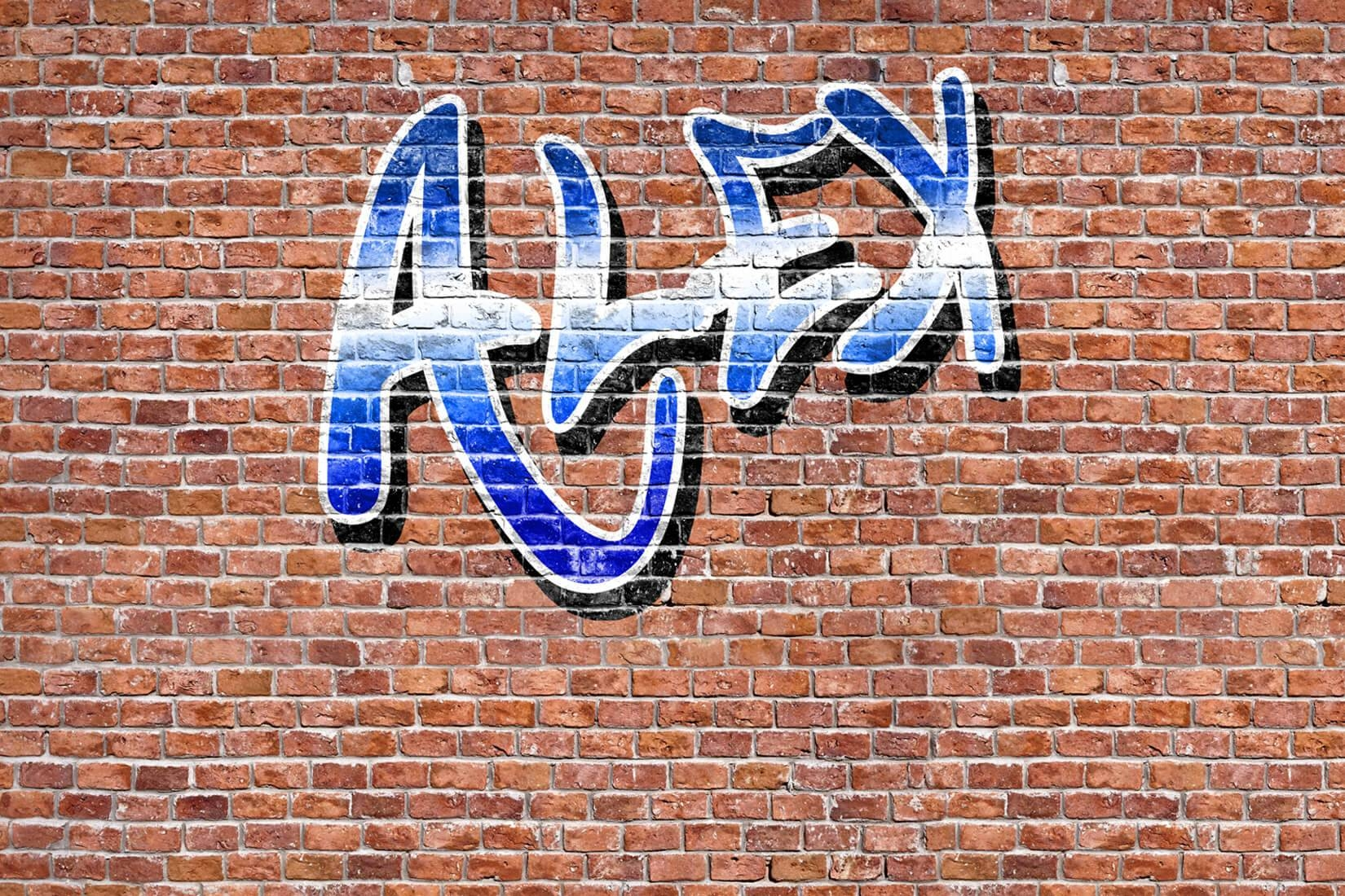Custom Name Graffiti Wallpaper Mural | Muralswallpaper.co (View 14 of 30)