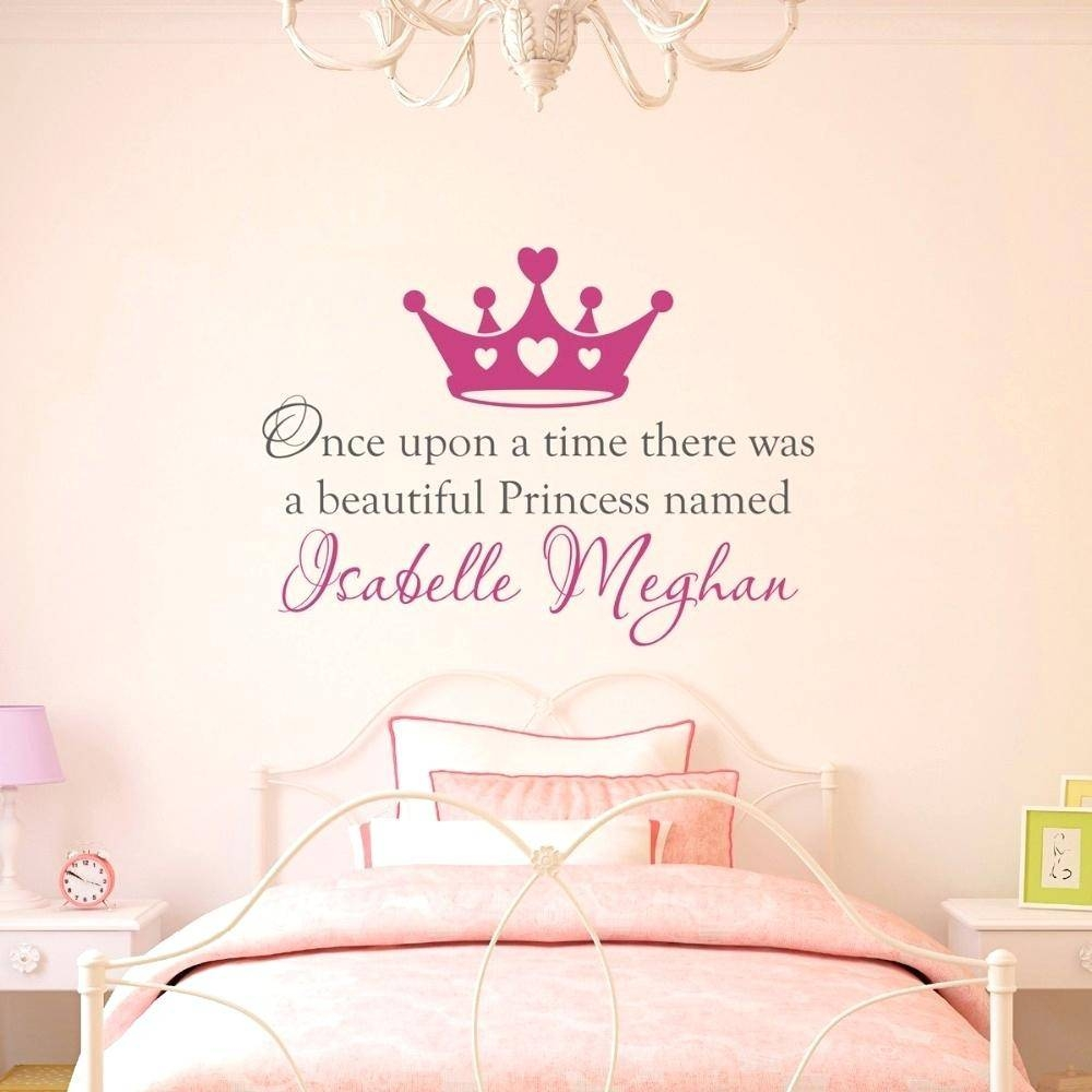 Custom Nursery Wall Decals Wall Ideas Personalized Wall Art Intended For Current Personalized Nursery Wall Art (View 7 of 20)