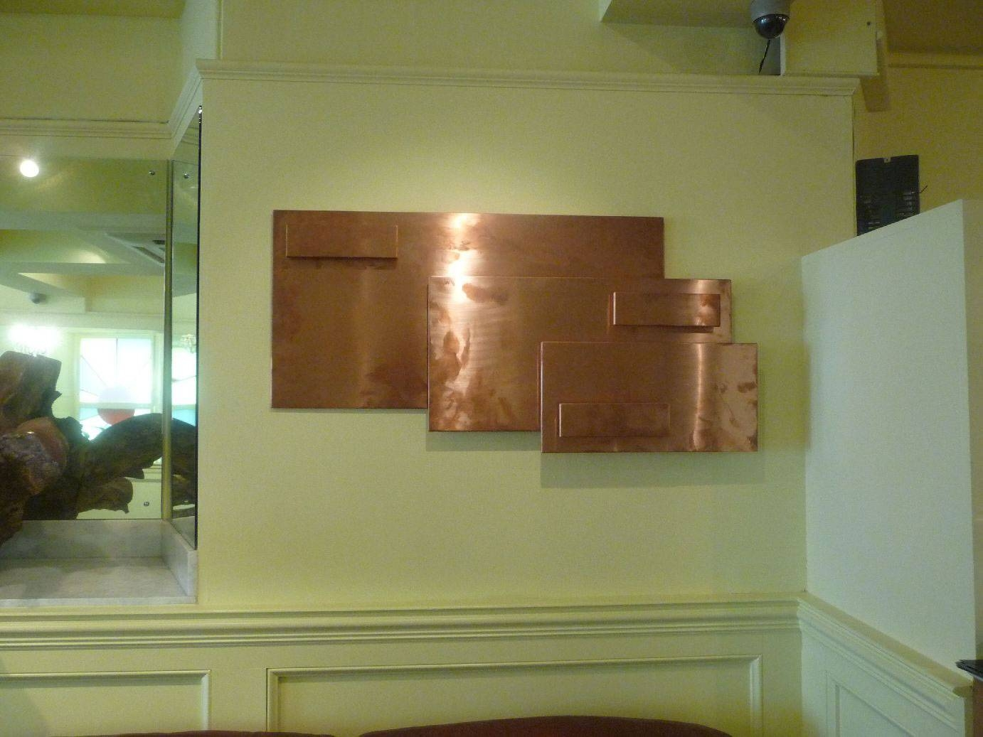 Custom Wall Art | Matal Art For Restaurants | Metal Working Within Most Up To Date Large Copper Wall Art (View 15 of 30)