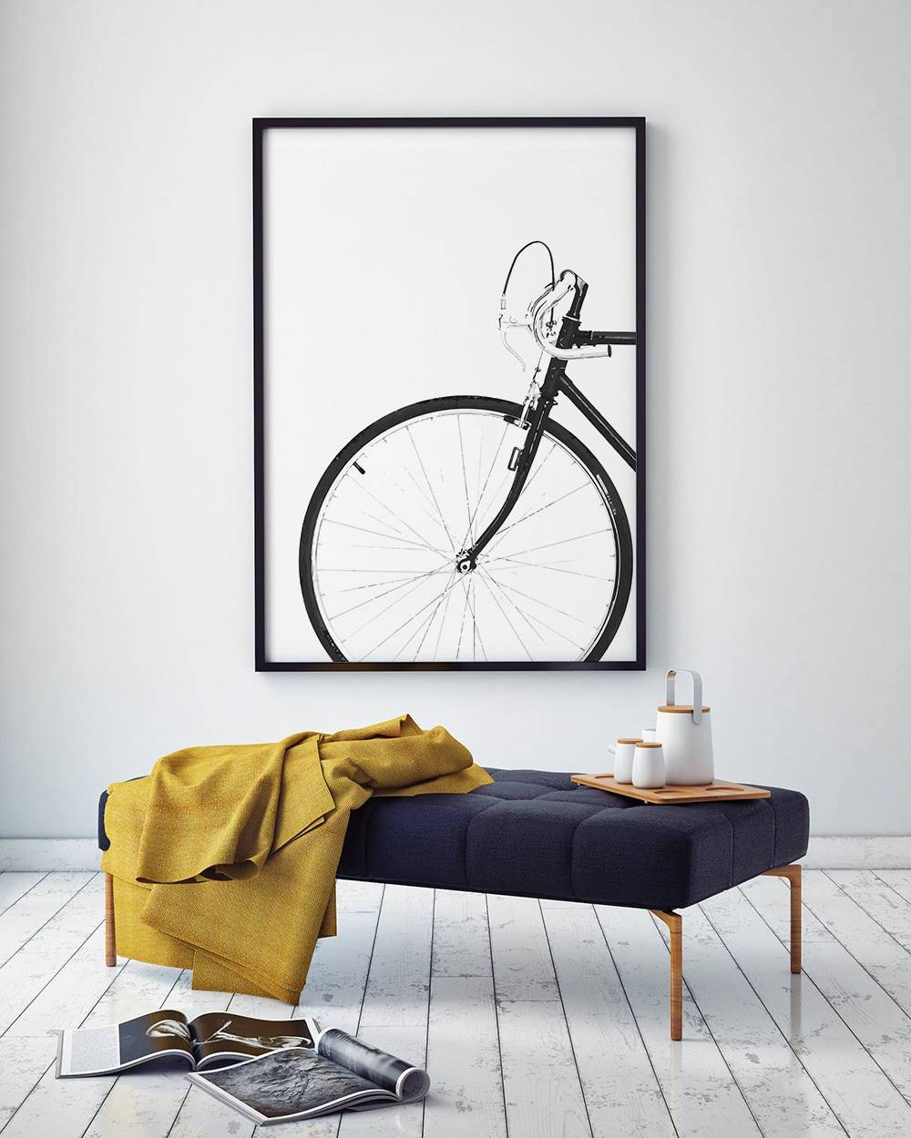 Cycling Poster, Bicycle Poster, Bike Print, Bicycle Wall Art For Latest Bike Wall Art (View 8 of 20)